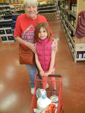 An aging grandparent shopping for our taste test